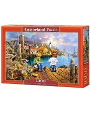 Пъзел Castorland от 1000 части - На кея -1