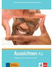 Aussichten A2 Arbeitsbuch mit Audio-CD/DVD