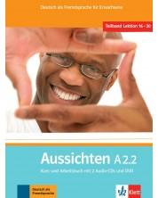 Aussichten A2.2 Kurs- und Arbeitsbuch mit 2 Audio-CDs und DVD -1