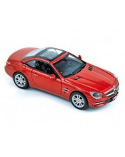Авто-модел Mercedes 500 SL 2012 metallic red -1