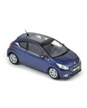Авто-модел Peugeot 208 2012 3 doors virtual blue -1