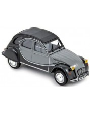 Авто-модел Citroën 2CV Charleston 1982 - Black & Grey -1