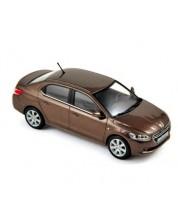 Авто-модел Peugeot 301 2012 brown -1