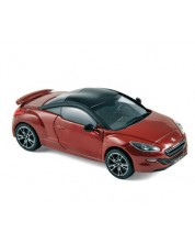 Авто-модел Peugeot RCZ-R 2013 red with matt black roof -1