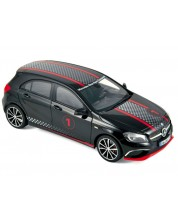 Авто-модел Mercedes-Benz A-Klasse Sport Equipment 2013 black with racing deco HQ -1