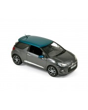 Авто-модел Citroën DS 3 2015 - Grey &  Emeraude -1
