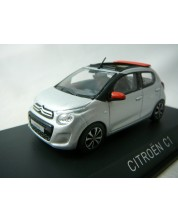 Авто-модел Citroën C1 Airscape 2014 - Gallium Grey & Agrume red -1