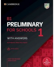 B1 Preliminary for Schools 1 for the Revised 2020 Exam Student's Book with Answers with Audio with Resource Bank Authentic Practice Tests -1