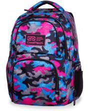 Ученическа раница Cool Pack Aero - Camo Fusion Pink