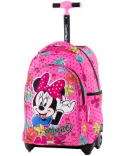 Раница на колелца Cool Pack Jack - Minnie Mouse Tropical