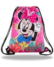 Спортен сак с връзки Cool Pack Beta - Minnie Mouse Tropical