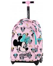 Раница на колелца Cool Pack Jack - Minnie Mouse Pink