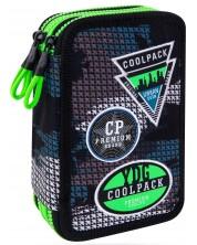 Несесер с ученически пособия Cool Pack Jumper 3 - Badges B Grey -1