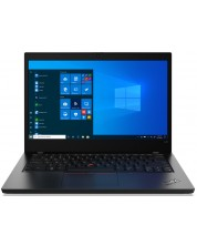 "Лаптоп Lenovo ThinkPad - L14, 20U10014BM/3, 14"", черен -1"