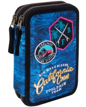 Несесер с ученически пособия Cool Pack Jumper 2 - Badges G Blue -1