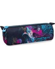 Цилиндричен ученически несесер Cool Pack Tube - Vibrant Bloom