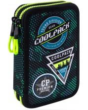 Несесер с ученически пособия Cool Pack Jumper 2 -  Badges B Green -1