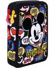 Несесер с ученически пособия Cool Pack Jumper XL - Mickey Mouse -1