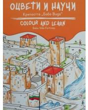Оцвети и научи: Крепостта Баба Вида -1