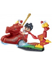 Конструктор Tang Dynastie - Червена бойна колесница -1