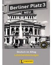 Berliner Platz Neu 3: Немски език - ниво В1 (книга за учителя) -1