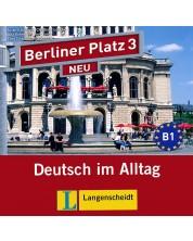 Berliner Platz Neu 3: Немски език - ниво В1 (2 CD) -1