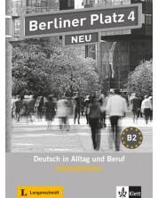 Berliner Platz Neu 4: Немски език - ниво В2 (тетрадка с упражнения) -1