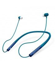 Безжични слушалки Energy Sistem - Earphones Neckband 3 Bluetooth, сини -1