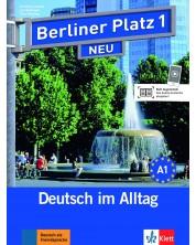 Berliner Platz Neu 1: Немски език - ниво А1 (Учебник и учебна тетрадка + 2 CD) -1