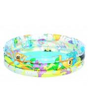 Детски надуваем басейн с 3 ринга Bestway - Океан