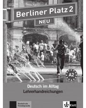 Berliner Platz Neu 2: Немски език - ниво А2 (книга за учителя) -1