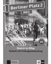 Berliner Platz Neu 2: Немски език - ниво А2 (тестове + CD) -1