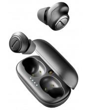 Безжични слушалки Cellularline Plume AQL - черни -1