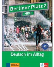 Berliner Platz Neu 2: Немски език - ниво А2 (Комплект: учебник и учебна тетрадка, 2 CD, Treffpunkt D-A-CH) -1