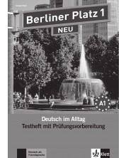 Berliner Platz Neu 1: Немски език - ниво А1 (тестове + CD) -1