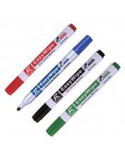 Комплект маркери за бяла дъска Beifa - A+, 4 цвята