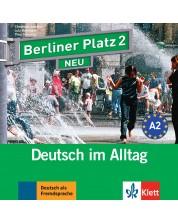 Berliner Platz Neu 2: Немски език - ниво А2 (2 CD) -1
