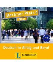 Berliner Platz Neu 4: Немски език - ниво В2 (2 CD) -1