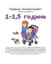Точната книжка (1 – 1,5 години)