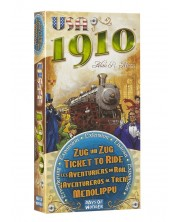 Разширение за настолна игра Ticket to Ride - USA 1910 -1