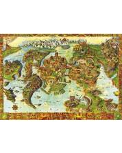 Пъзел Bluebird от 1000 части - Центърът на Антлантида в Древния свят, Алберт Лоренц