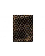Текстилен джоб за електронна книга With Scent of Books - Dragon treasure, Gold & Diamond Black
