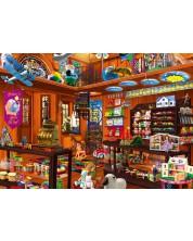 Пъзел Bluebird от 1000 части - Скритият магазин за играчки