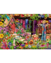 Пъзел Bluebird от 1000 части - Градината на плашилото, Ейми Стюарт -1
