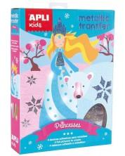 Творчески комплект Apli - Направи си сам рисунки с трансферно фолио, Принцеси