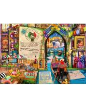 Пъзел Bluebird от 1000 части - Животът е отворена книга, Венеция, Ейми Стюарт -1