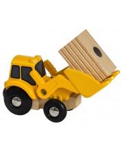 Играчка от дърво Brio World - Трактор -1