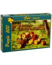 Пъзел Gold Puzzle от 500 части - Ябълки