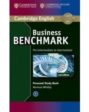 Business Benchmark Study Book 2nd edition: Бизнес английски – ниво Pre-intermediate / Intermediate (помагало за самостоятелна работа) -1