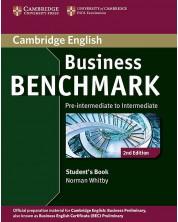 Business Benchmark Student's Book 2nd edition: Бизнес английски – ниво Pre-intermediate / Intermediate (учебник) -1